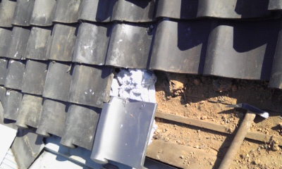 雨漏り 屋根瓦 補修