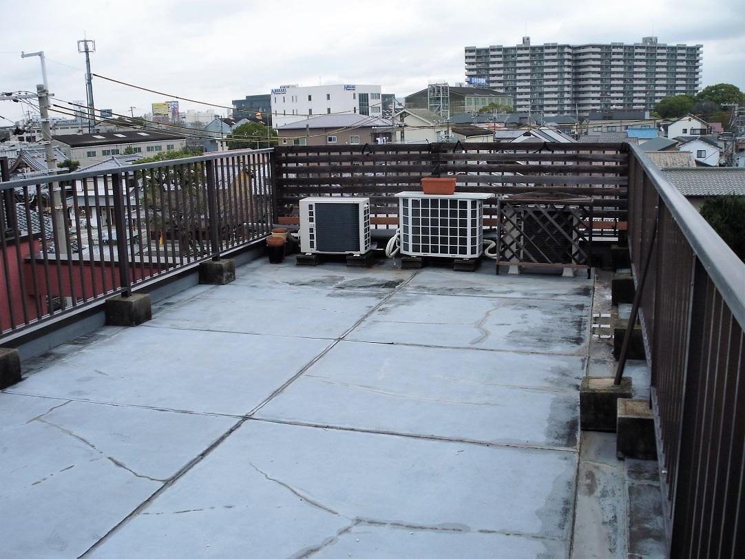 雨漏り 陸屋根 劣化